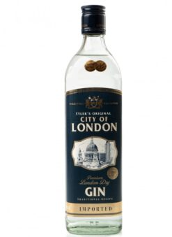 Джин City of London 40% 1,0 л