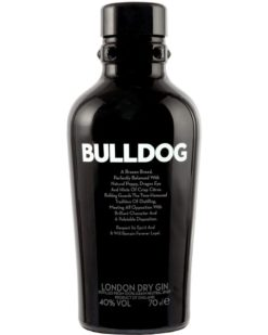 Джин Bulldog London Dry 40%, 1,0 л